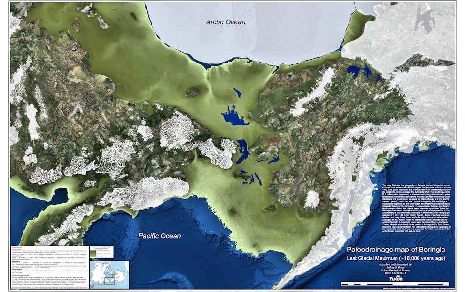 Neue Karte zeigt arktische Landbrücke zwischen Russland und USA
