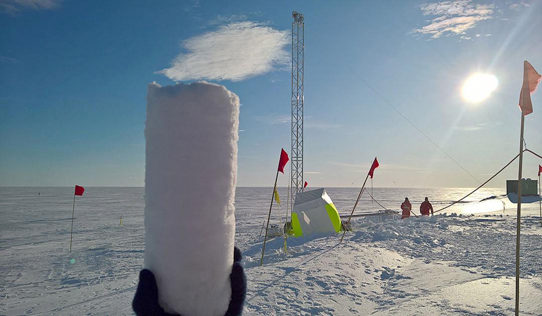 Klimageschichte im Eis