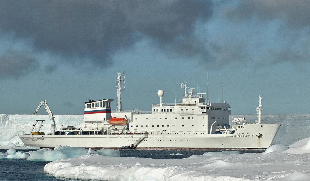 Tauziehen um russische Expeditionsschiffe