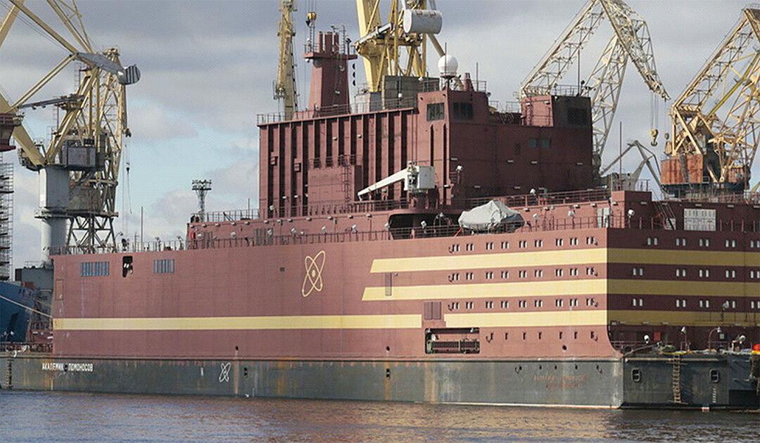 Russlands schwimmendes Atom-Kraftwerk in der Arktis