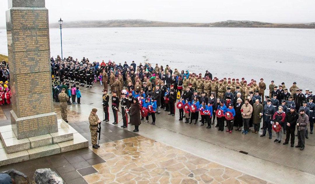 Falklandinseln begehen 37. Befreiungstag