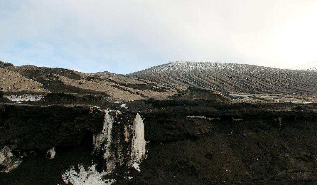 Seltener Lavasee auf subantarktischer Insel entdeckt