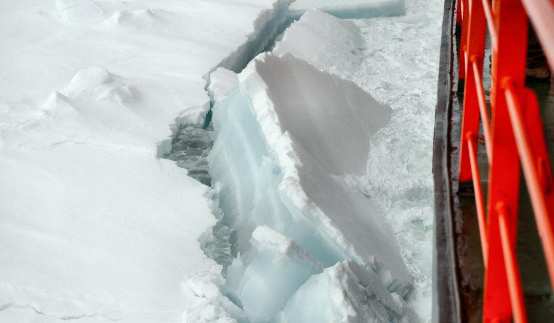 Russlands grösster konventioneller Eisbrecher wird erst ab 2020 Eis sehen