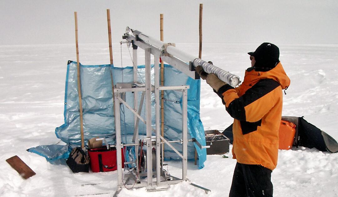 Bleispuren im arktischen Eis erzählen europäische Geschichte