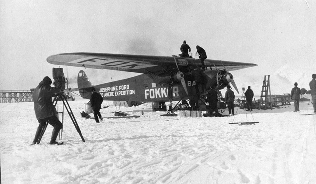 Byrd war vielleicht doch nicht erster Flieger am Pol