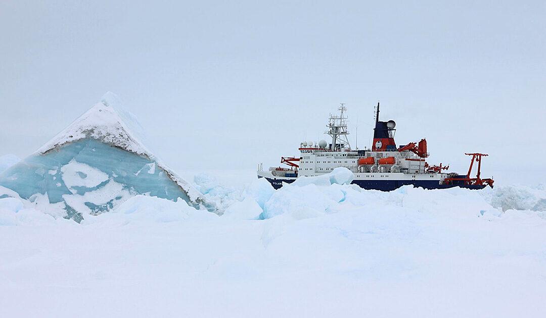 Forschungsschiff «Polarstern» zurück in Bremerhaven