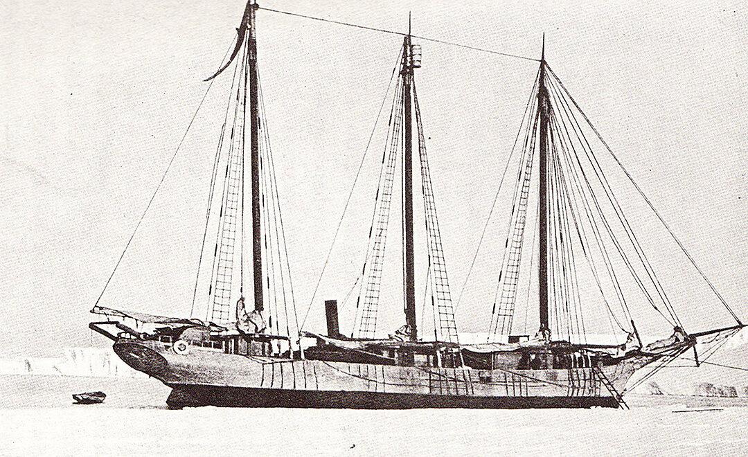 Erste japanische Antarktis-Expedition in die Antarktis