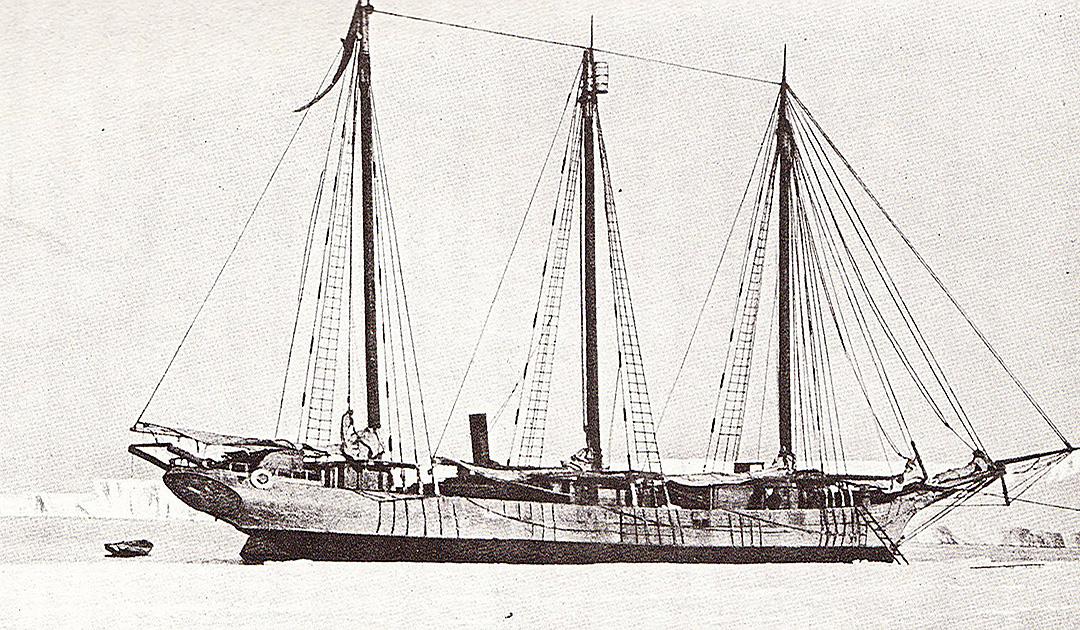 Erste japanische Antarktis-Expedition