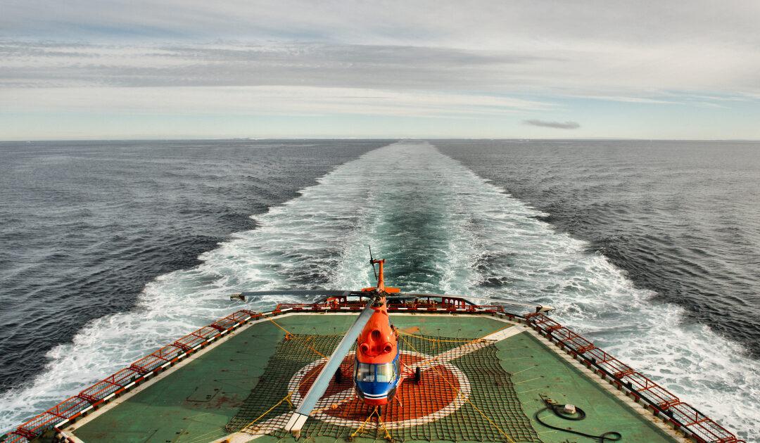 Meereisrückgang in der russischen Arktis öffnet Wasserweg und bringt 5 neue Inseln