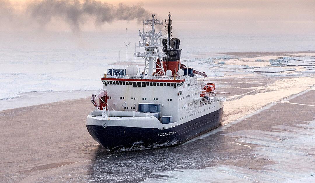 Die «Polarstern» startet in Richtung Arktis