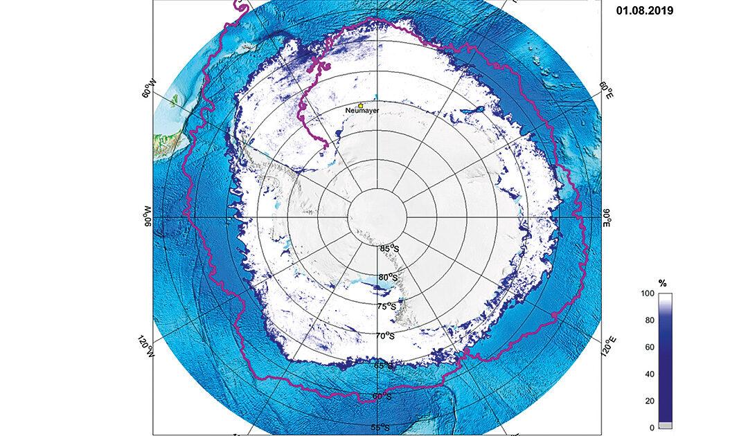 Eine Mess-Boje umrundet in mehr als drei Jahren die Antarktis