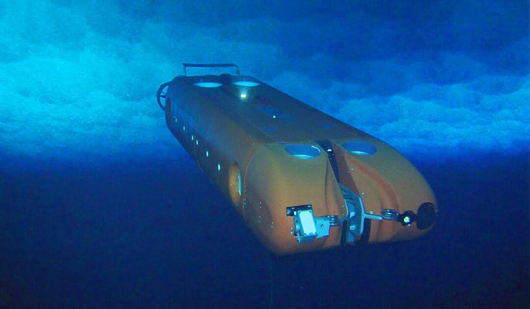 Probelauf eines Roboter-U-Bootes für Interplanetare Erforschung