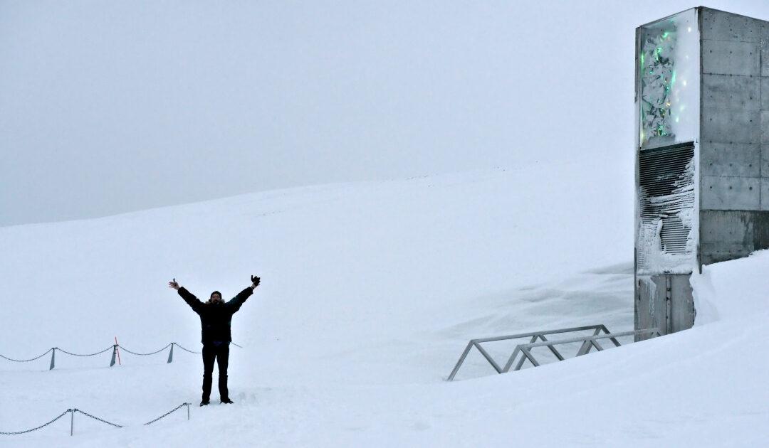 Umbau des Eingangs zum Global Seed Vault auf Svalbard abgeschlossen