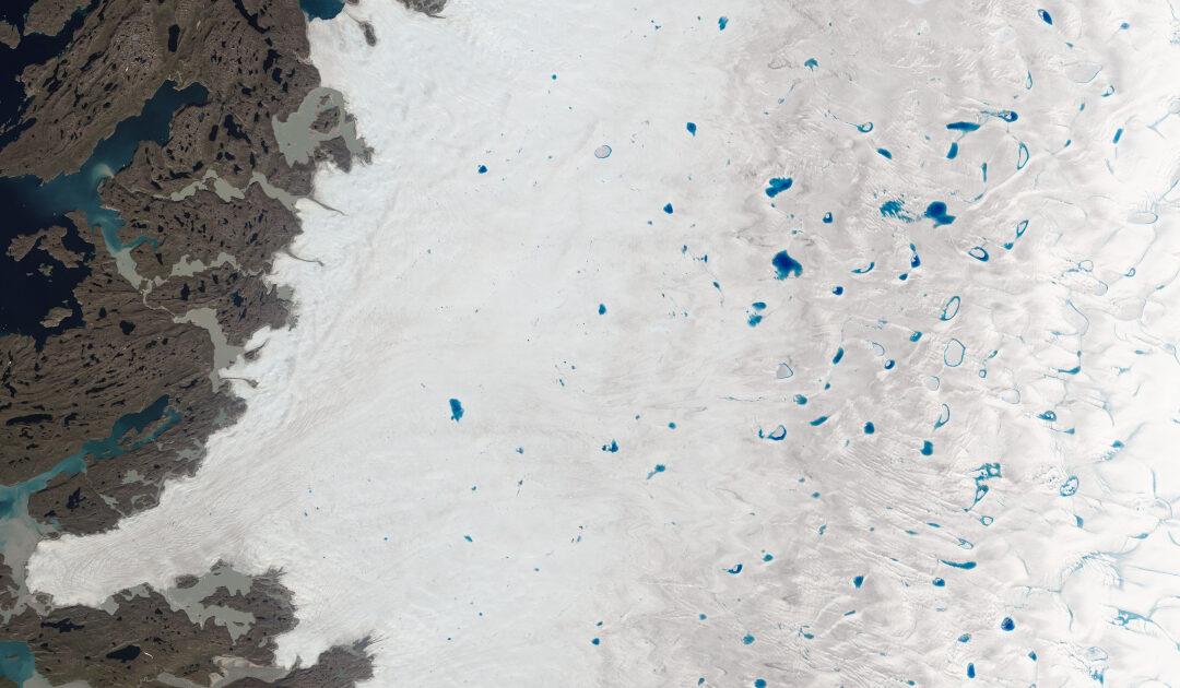 Tausende von Schmelzwasserseen  in der Ostantarktis entdeckt