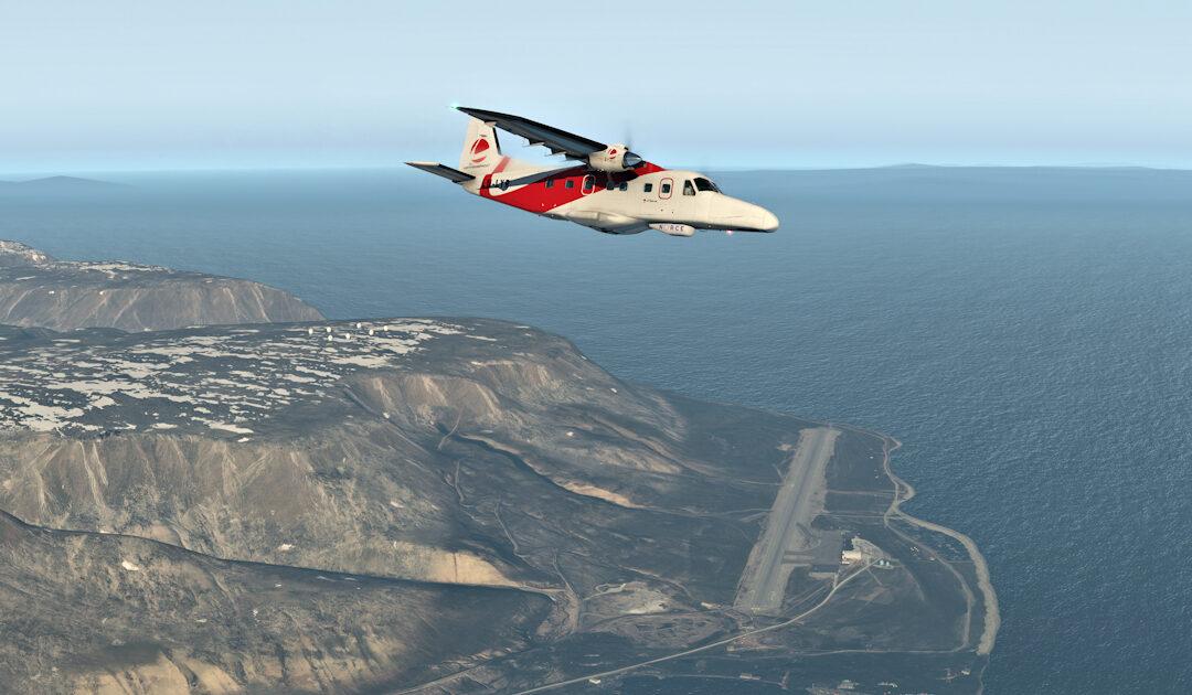 Erstes Passagierflugzeug für Umweltüberwachung in Svalbard entwickelt