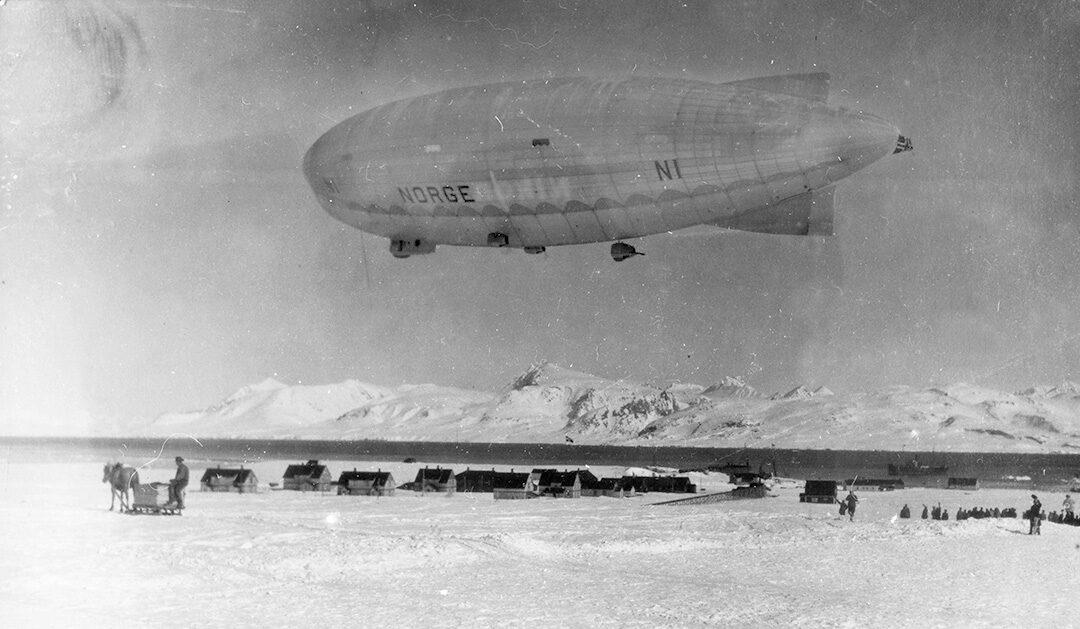 12. Mai 1926 — Nobile erreicht den Nordpol