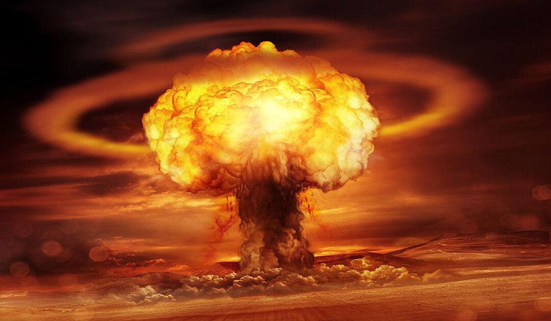 Nuklearer Fallout in antarktischer Luft