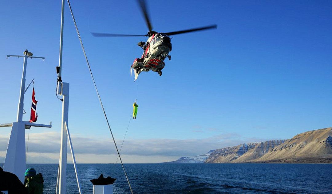 Norwegen rüstet Such- und Rettungsbasis in der Arktis auf
