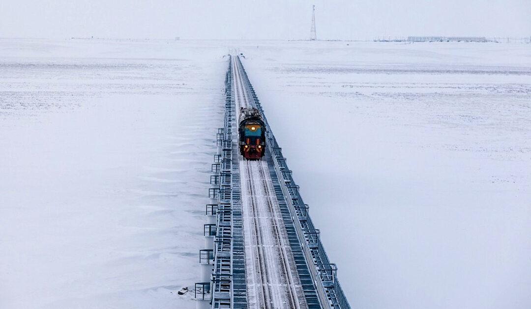 Putin's Vision einer Verbindung zwischen Arktis und Pazifik