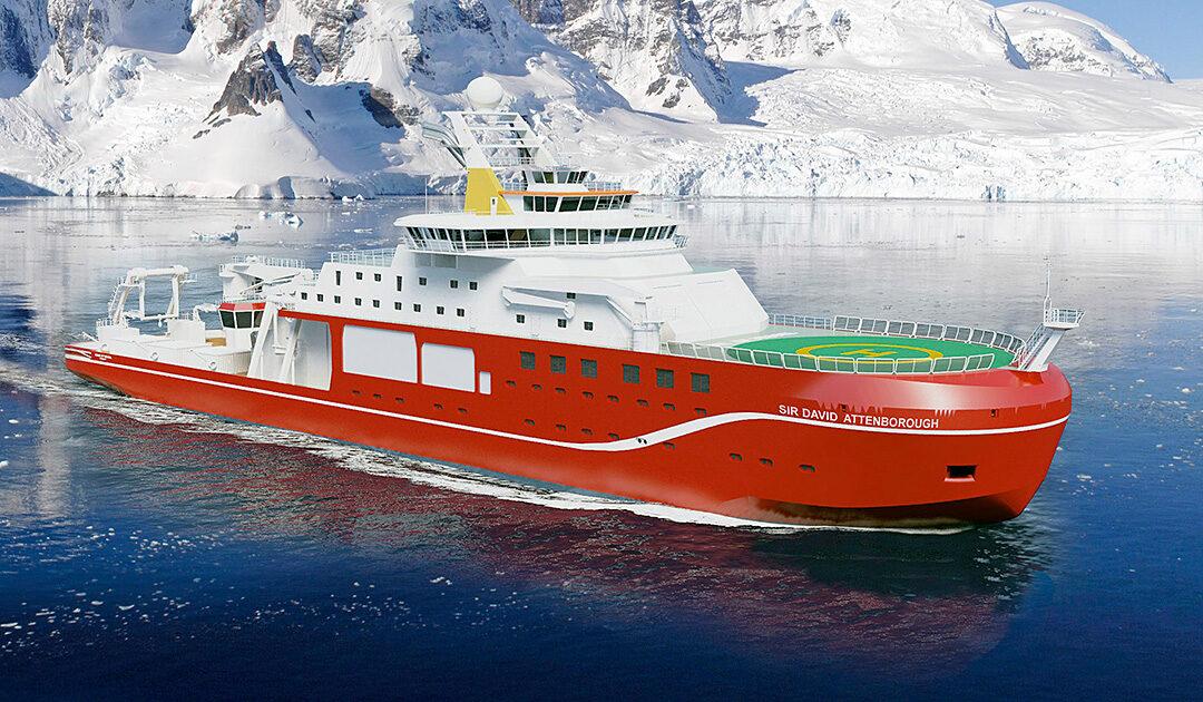 RRS «Sir David Attenborough» ersetzt zwei alte Schiffe