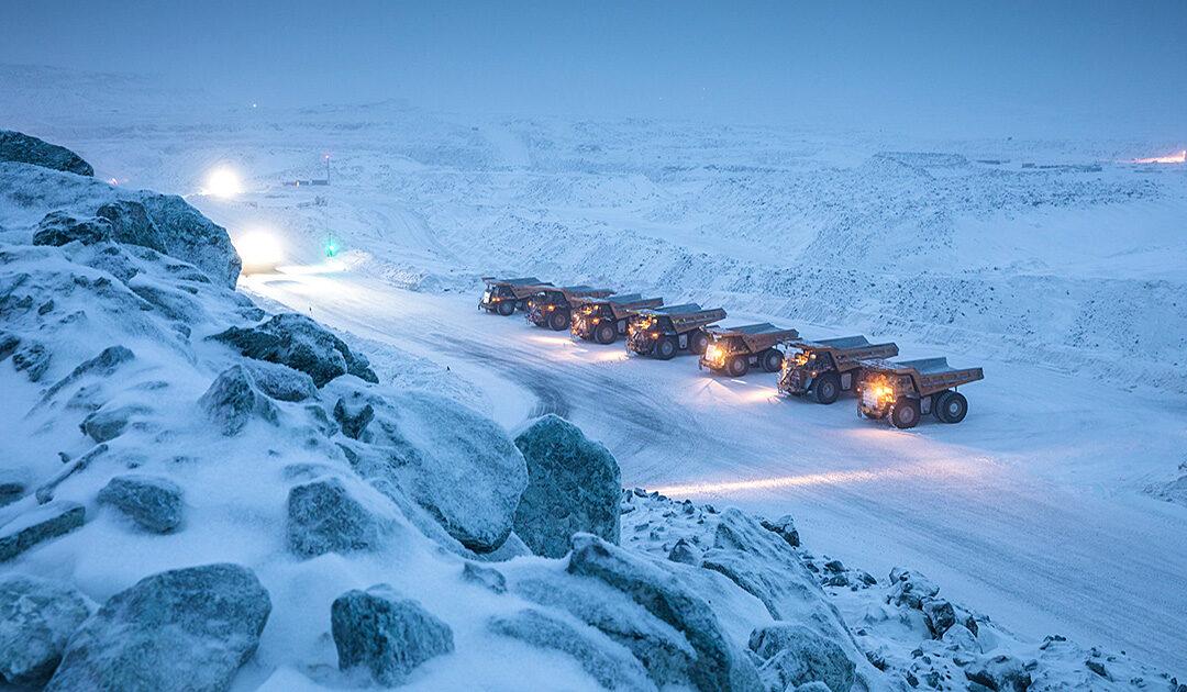 Bergbauunternehmen in Nunavut schüttet eine Rekordmenge Gold aus