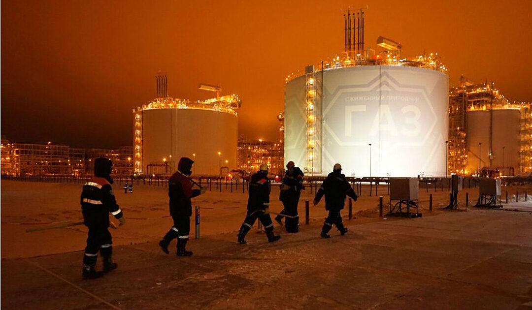 Russland will wegen tiefem LNG-Preis keine neuen Projekte mehr finanzieren
