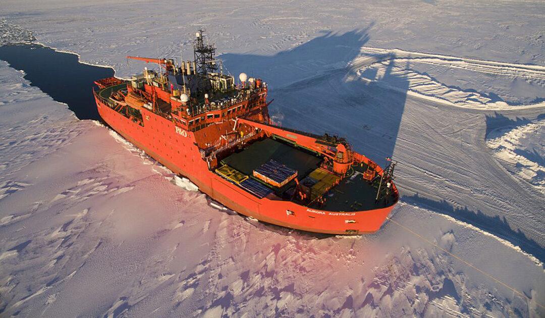 Australien unterstützt das französische Antarktisprogramm