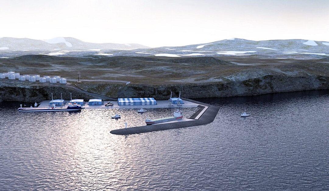Grünes Licht für neuen Hafen auf Nowaja Semlja