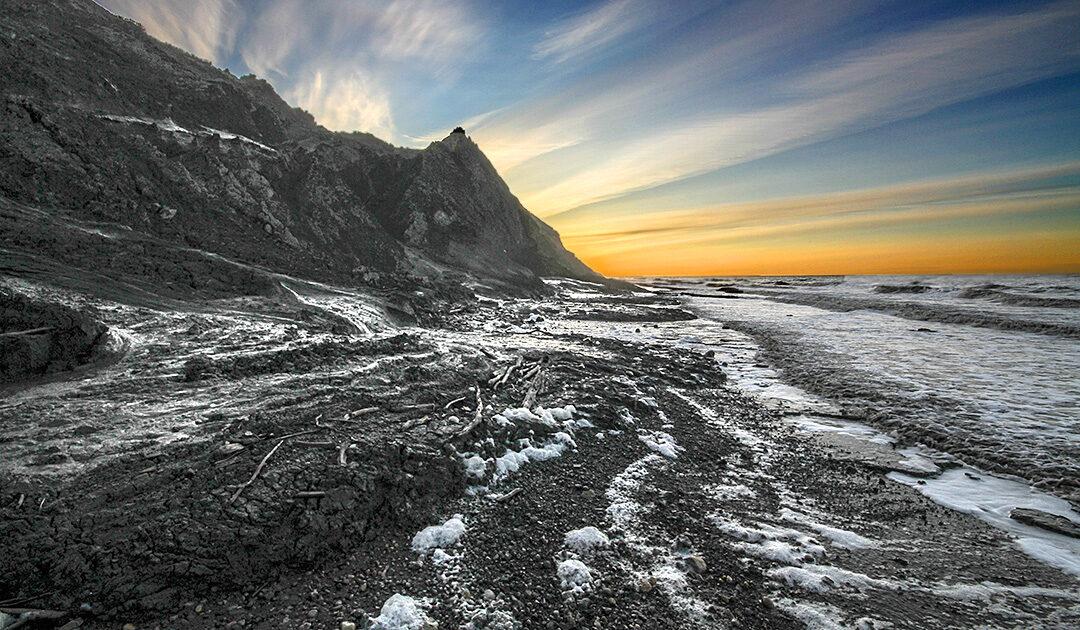 Die Erosion der Permafrost-Küsten könnte große Mengen an CO2 freisetzen