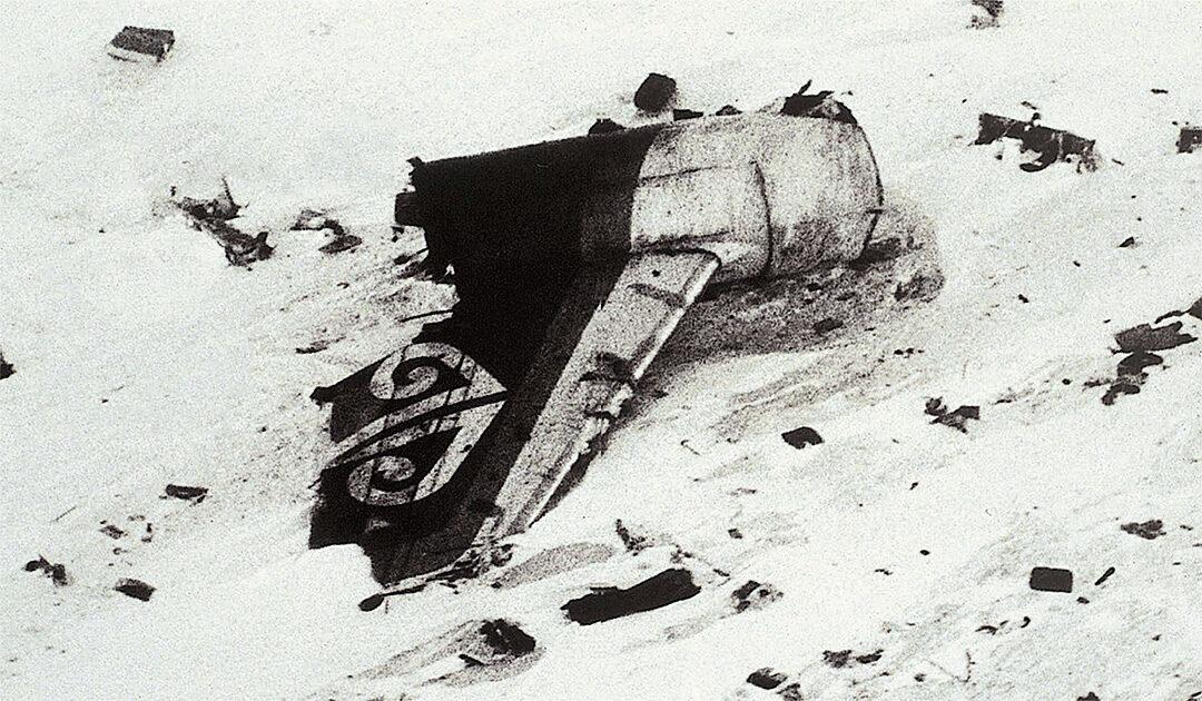 Vor 40 Jahren – Schweres Flugzeugunglück in der Antarktis