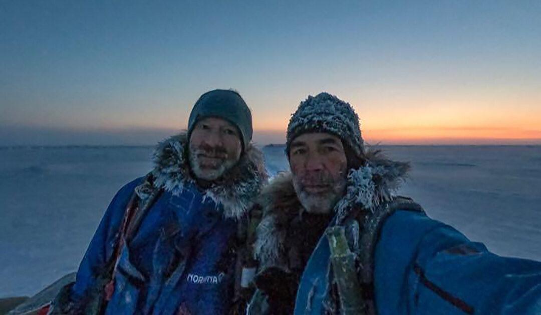Mike Horn und Børge Ousland müssen möglicherweise gerettet werden