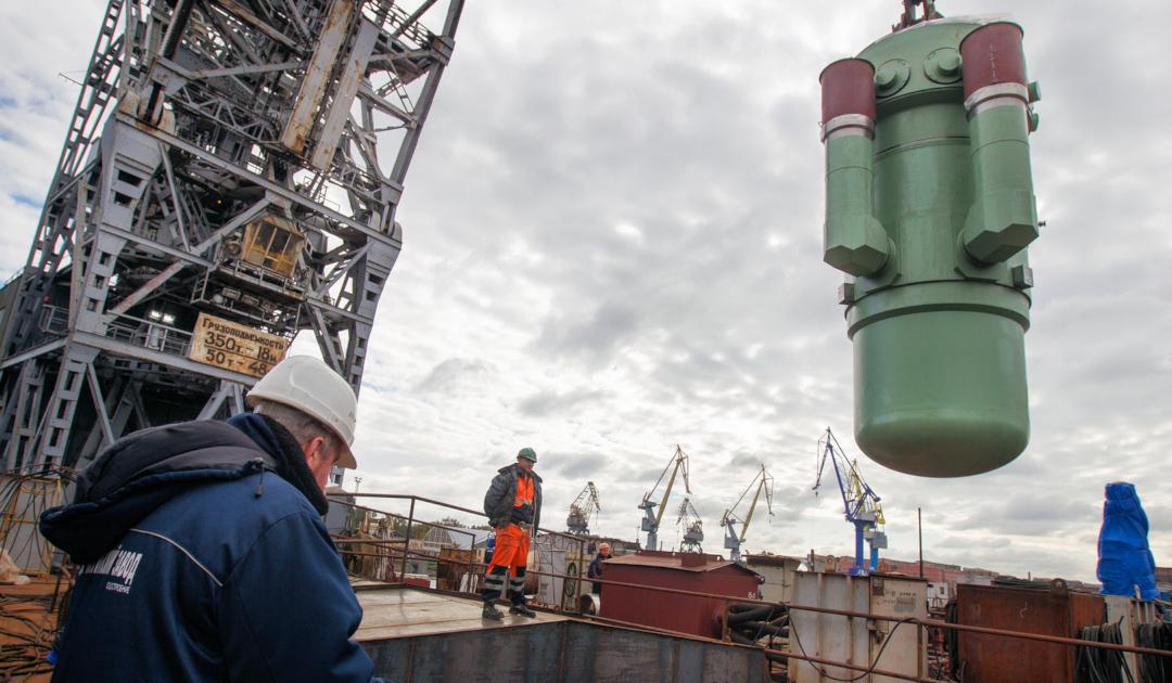 Russland plant neues Mehrzweckschiff für Nuklearabfälle