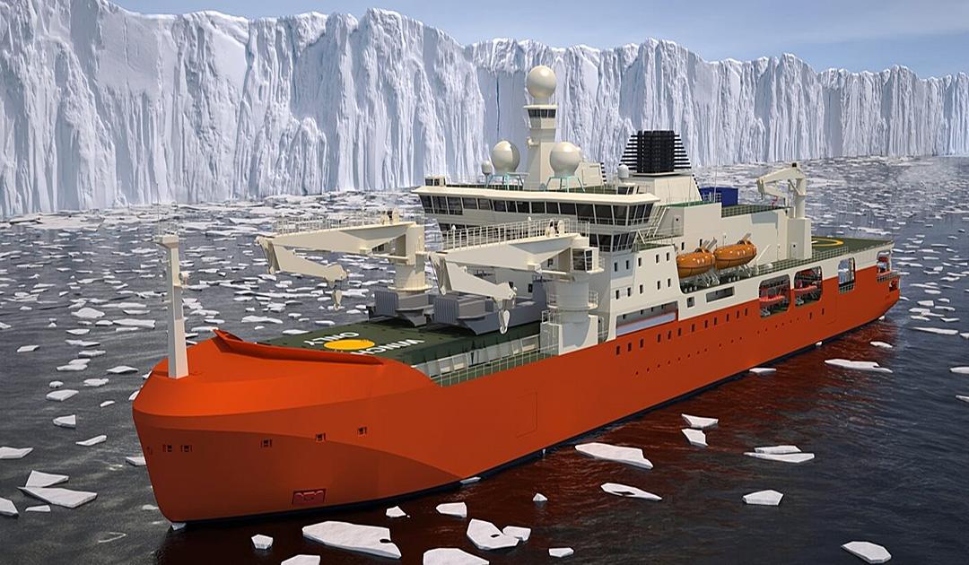 Australiens neuer Eisbrecher im Zeichen des Umweltschutzes