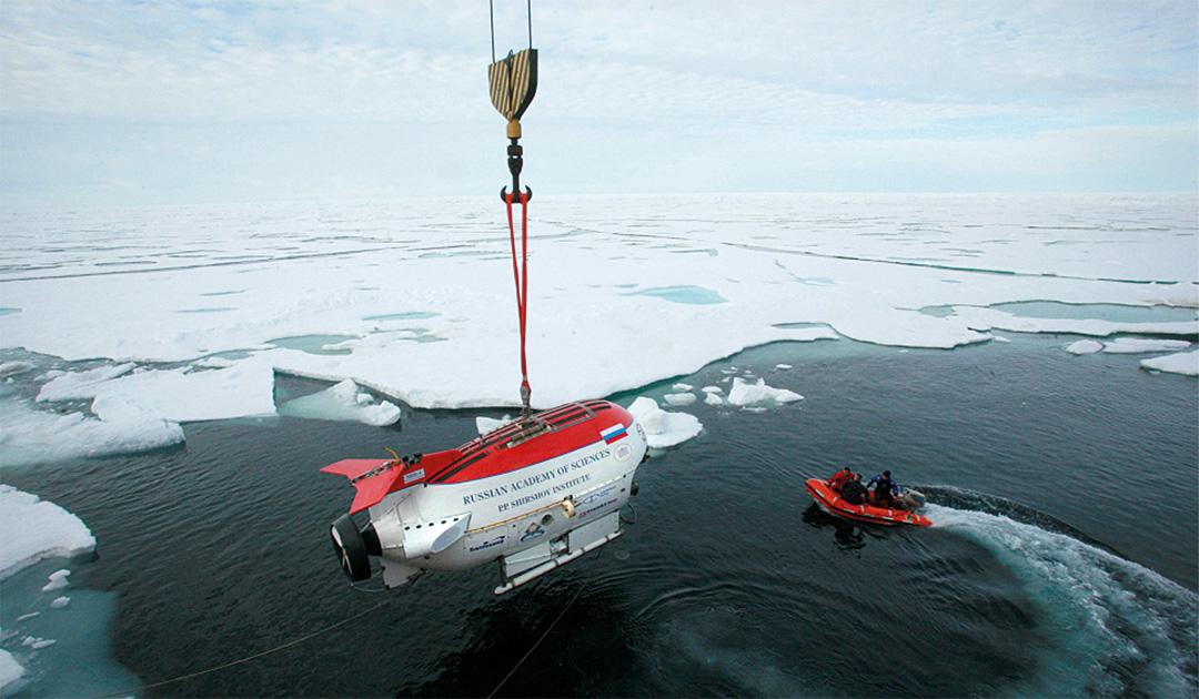 Russland gewinnt Unterstützung für seine Forderungen im arktischen Schelf