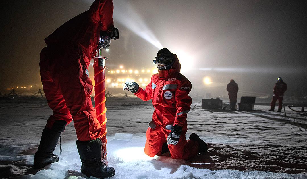 MOSAiC – Schichtwechsel am Nordpol