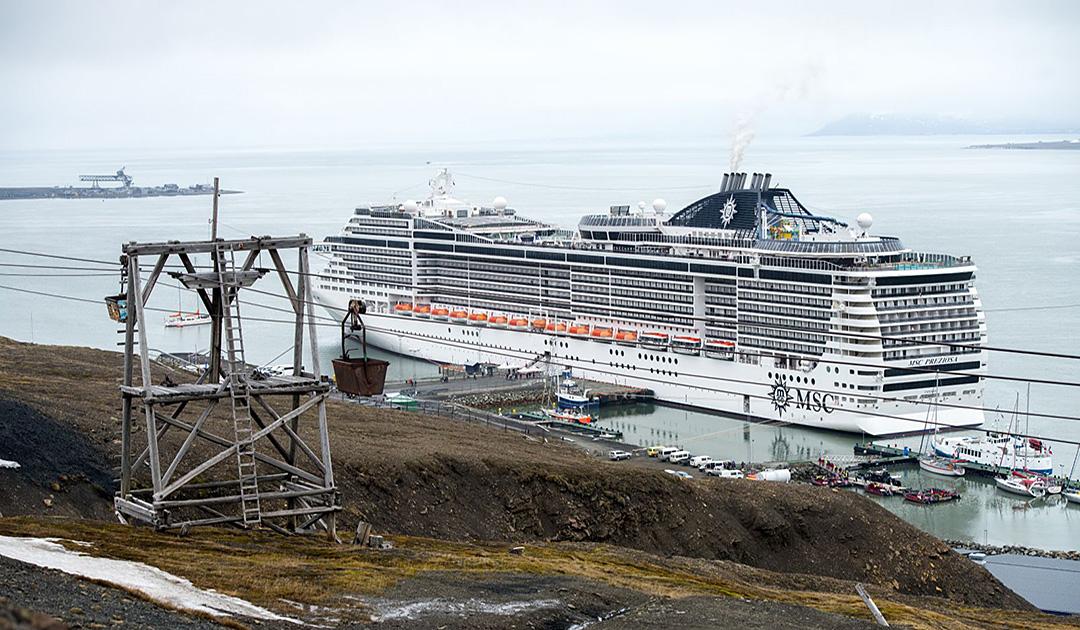 Spitzbergen – Aus für Megaliner und Schweröl?