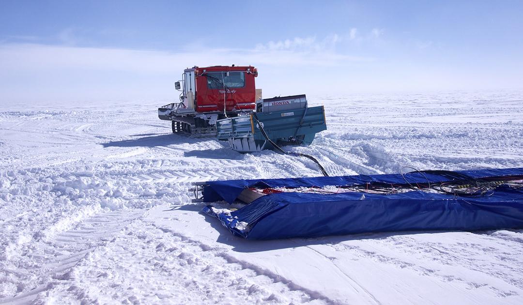 Bohrstelle nach dem ältesten Eis der Antarktis gefunden