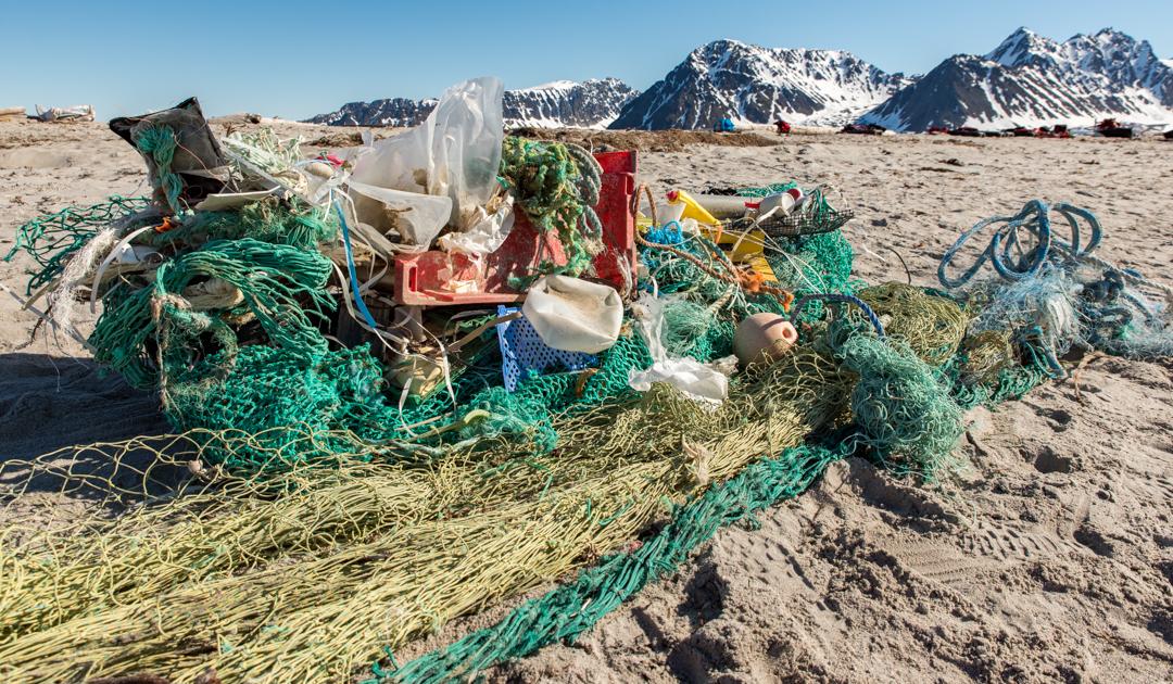 Plastik – Gefahr für die Arktis