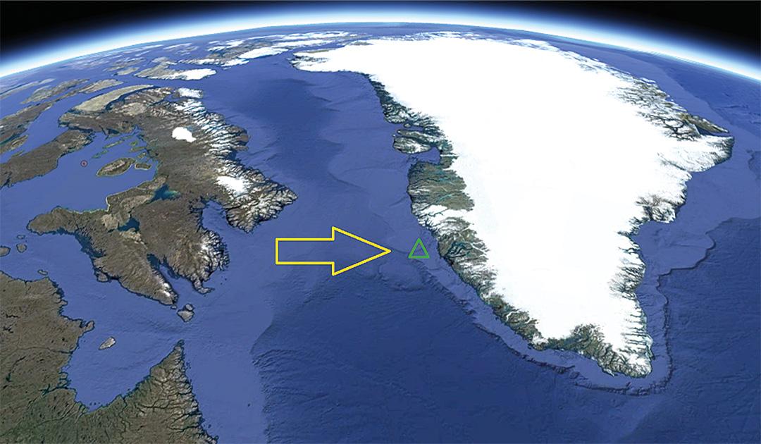 Einzigartiger Vulkan vor Grönland entdeckt