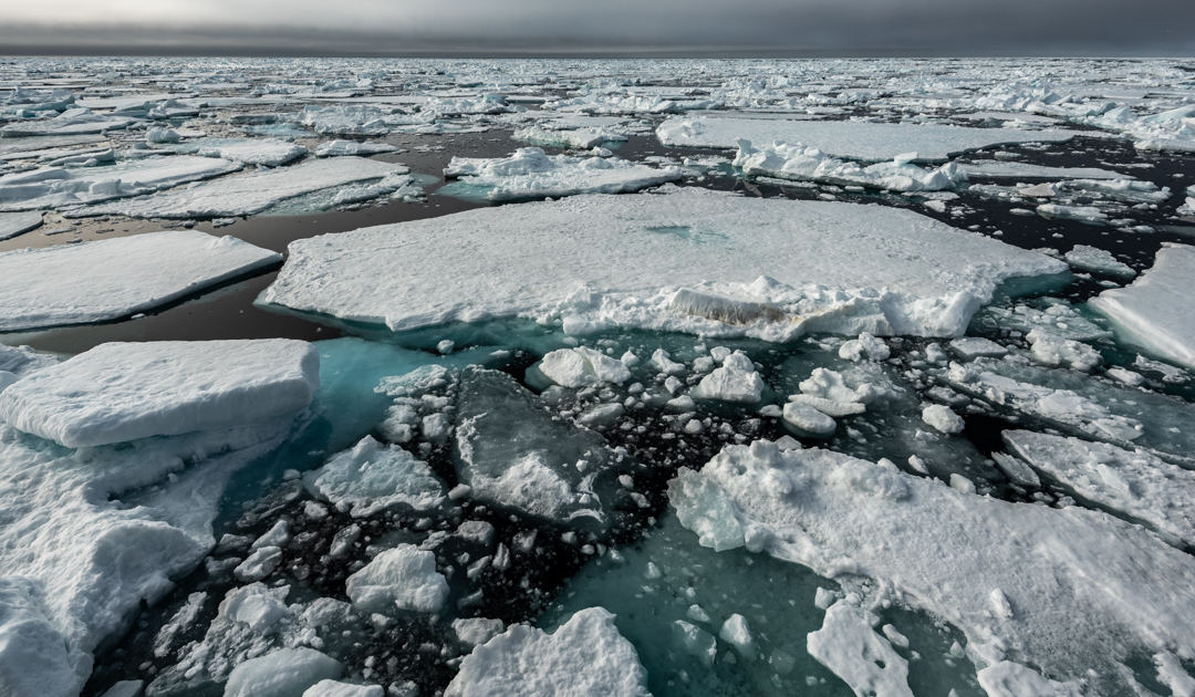 Das Schmelzen des arktischen Eises geht immer schneller voran