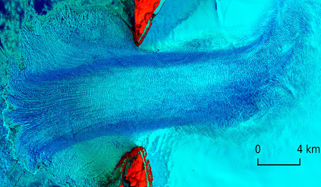 Bildung eines arktischen Eisstroms erstmals beobachtet