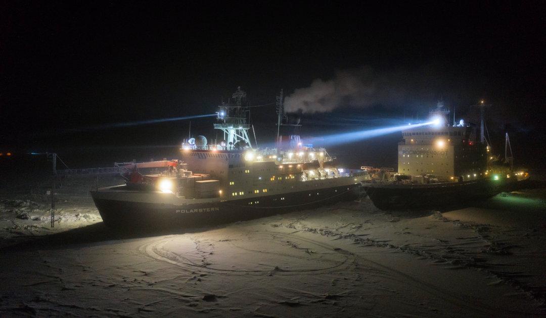 Festliche Tage in der Nähe des Nordpols