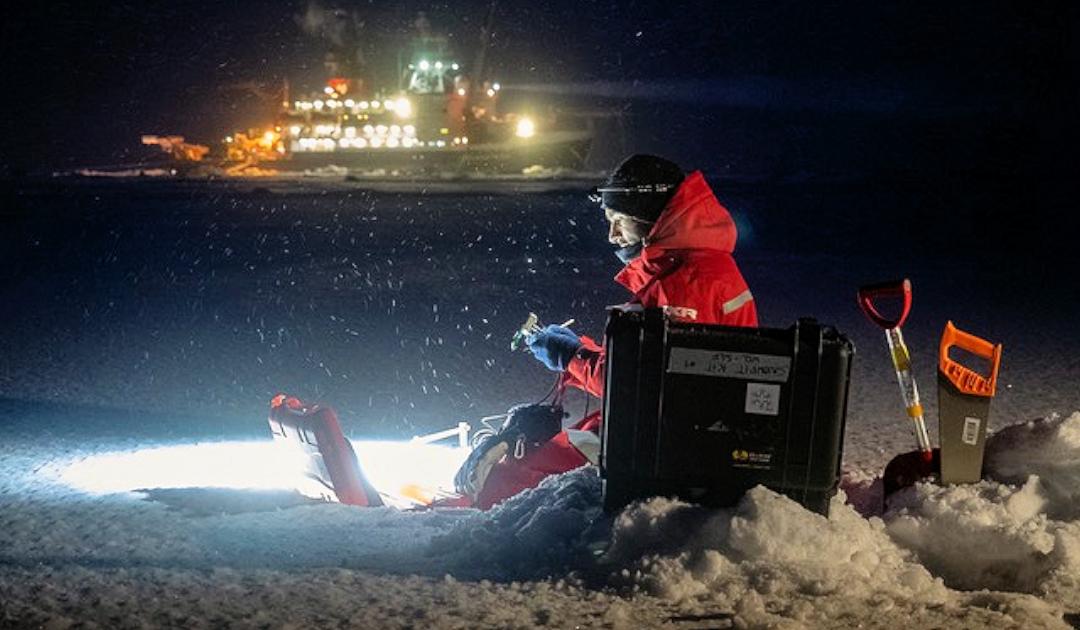 Turbulente Zeit im arktischen Eis