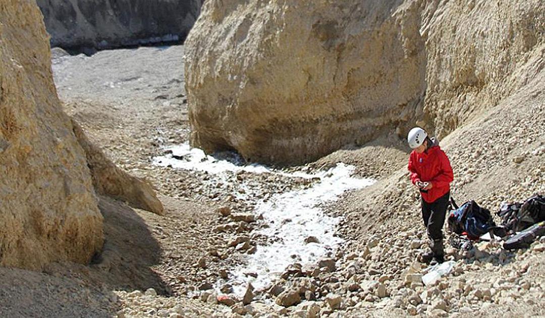 Nördlichste Quelle der Welt in Nunavut