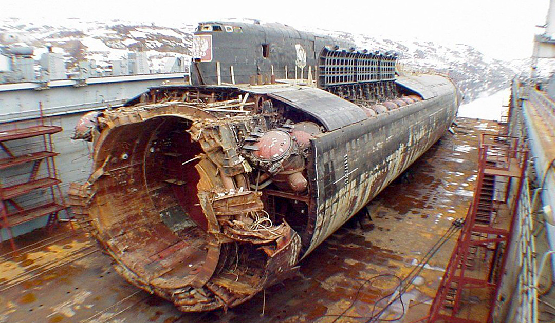 Russland sondiert nach versenkten U-Booten
