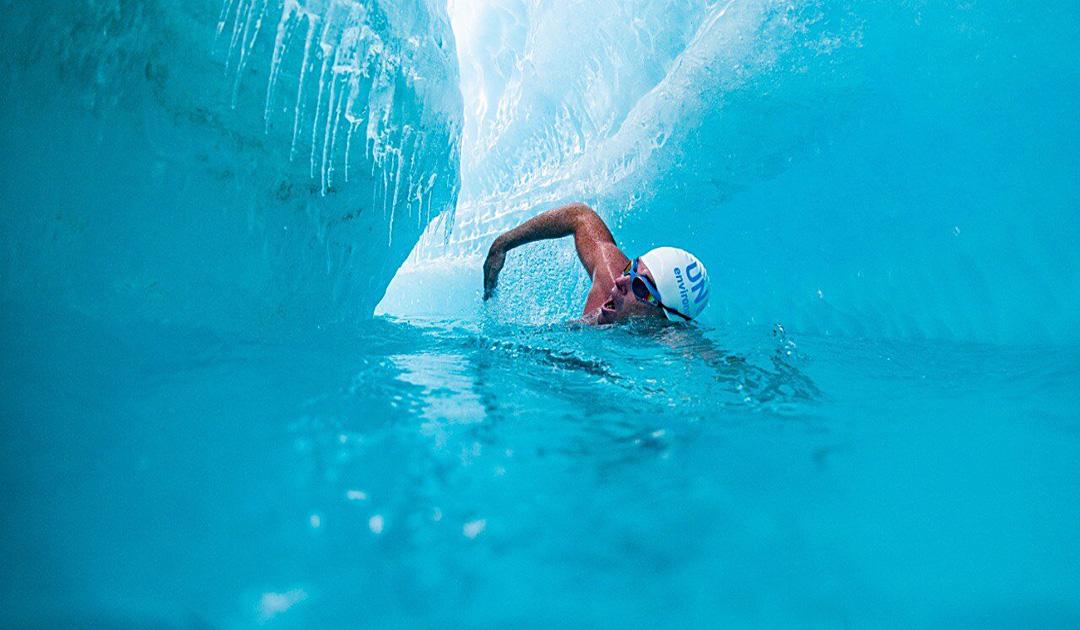 Antarctica – Schwimmen für das Klima