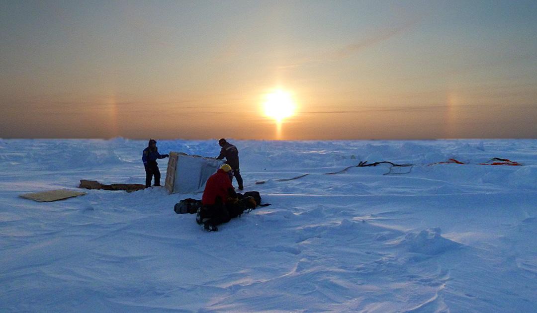 Arktis oder Antarktis – wo ist es kälter?