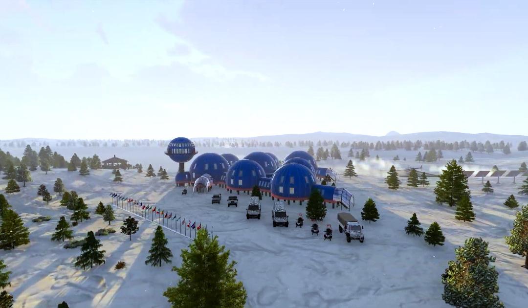 Neue russische Forschungsstation in der Arktis läuft mit Wasserstoff