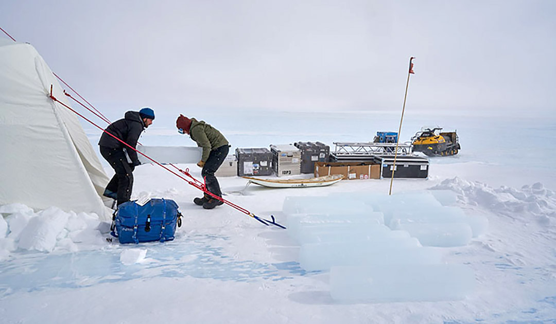 Jagd nach dem ältesten Eis