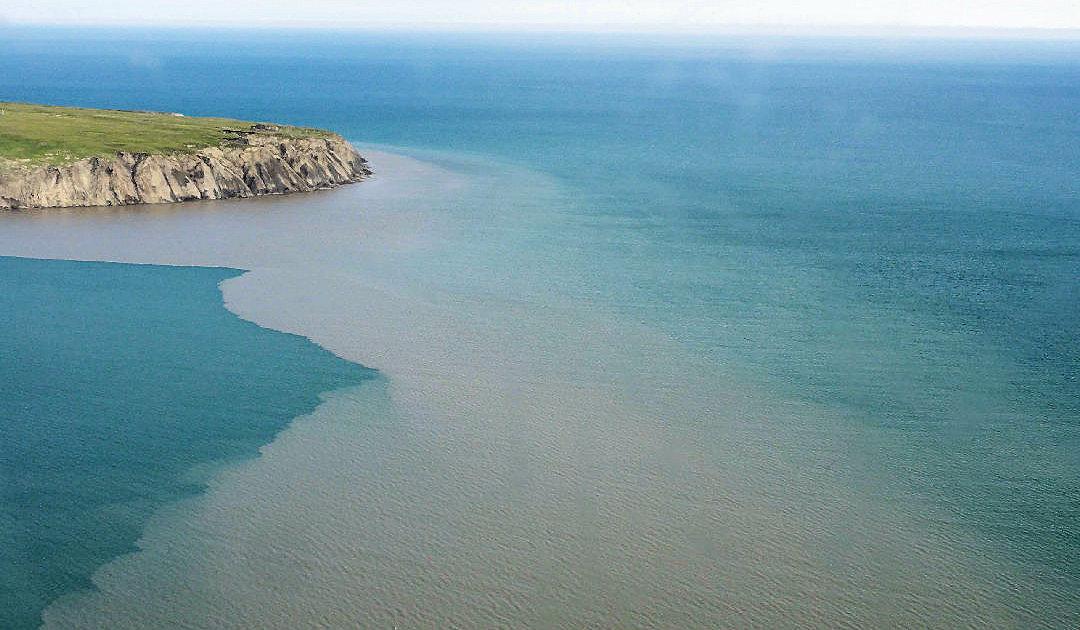 Tiefe Küstenbereiche schützen Permafrostmaterial vor Abbau